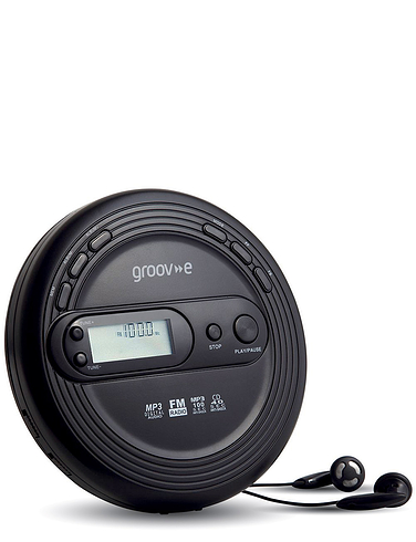Retro Series Personal CD Player With FM Radio