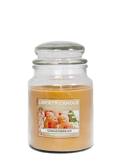 Gingerbread Liberty Candle