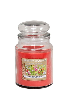 Wild Flower Liberty Candle
