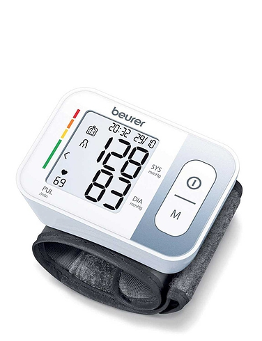 Wirst Blood Pressure Monitor & Free Digital Thermometer