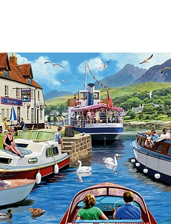 A Day on the River Jigsaw Puzzle