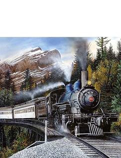 Express Train Jigsaw Puzzle