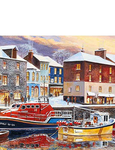 Gibsons Padstow In Winter 636pc Jigsaw
