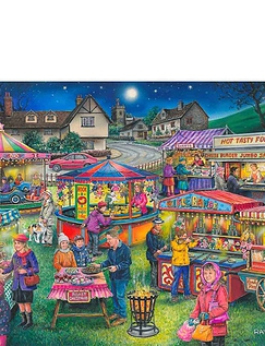 Village Fayre Find the Difference Jigsaw Puzzle