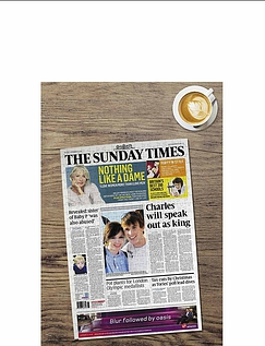 The Times Front Page Personalised Jigsaw Puzzle