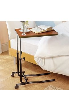 Over Chair Standard Bed Table With Castors