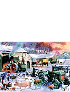 Seasons on the Farm -Boxed Set Jigsaw