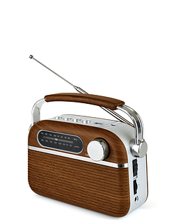 Loytron Rechargeable FM/AM Radio