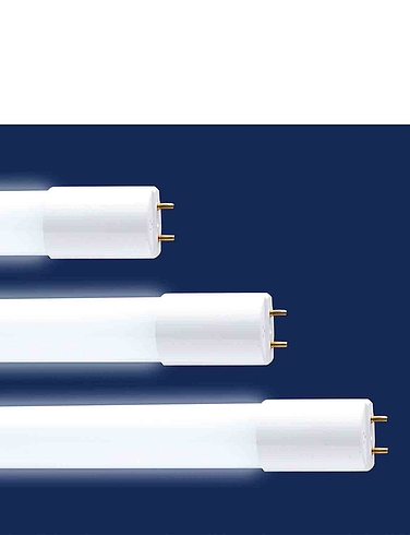 LED Replacement FlurescentTube 9W - White