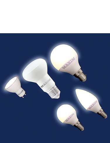 LED Spotlight Small Screw Lifetime Bulbs - MULTI