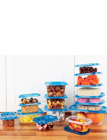 15 Pack Reusable Storage Containers - MULTI