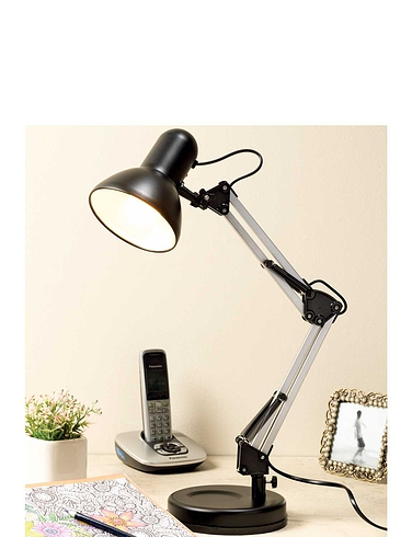 Table Hobby Lamp - Black