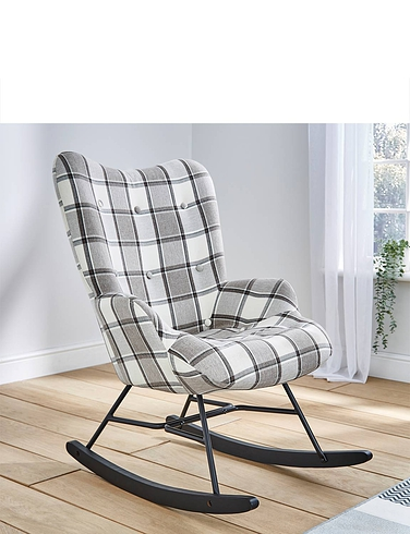 High Back Rocking Chair