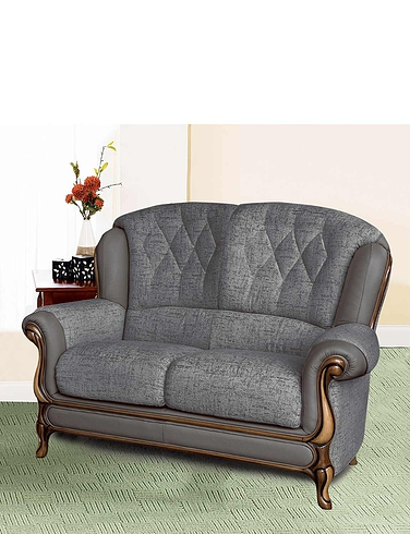 Queen Anne Two Seater