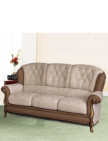 Queen Anne 3 Seater