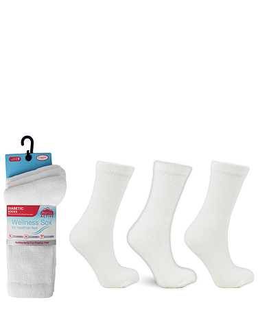 Diabetic Non Elastic Socks 3 Pack