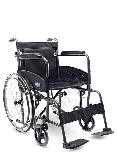 Self-propelled Steel Wheelchair