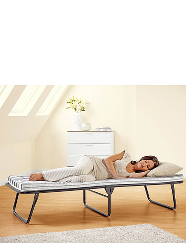 Folding Bed With Sprung Mattress