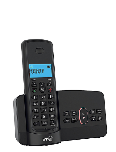 Single BT Cordless Telephone With Answering Machine