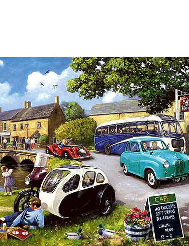 4 x 500pc Happy Days Jigsaws