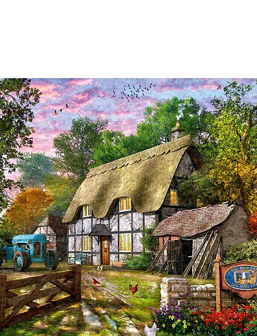 The Farmers Cottage 1000 Piece Jigsaw