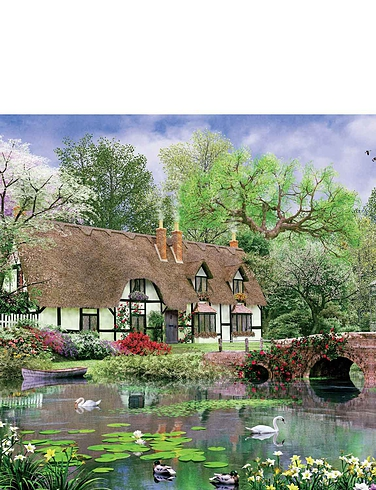 April Cottage 1000pcs Jigsaw