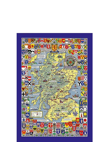 Historical Country Maps  Scotland 1000pc Jigsaw