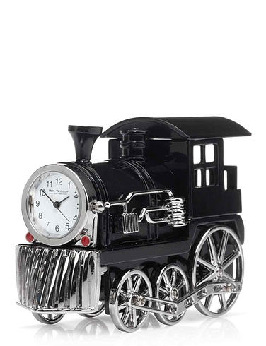 Train Miniature Clock