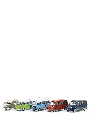 5 Piece VW Camper Set