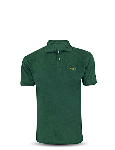 Monogrammed Polo Shirt