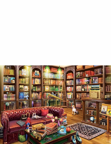 The Reading Room Jigsaw Puzzle