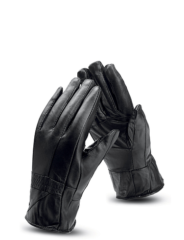 Mens Real Leather Gloves