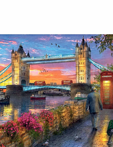 Tower Bridge at Sunset 1000 Pc Jigsaw