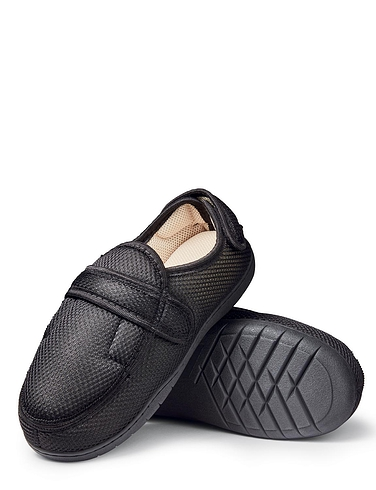 Top Velcro Closing Slippers