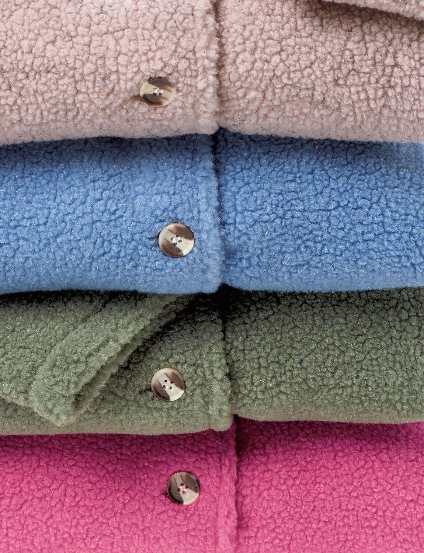 SHERPA FLEECE JACKET - Ladieswear Coats & Jackets