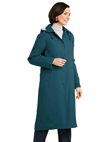 Ladies Fleece Lined Showercoat