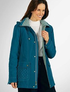 Lightweight Microfibre Quilted Jacket