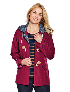 Ladies Toggle Fastening Jacket