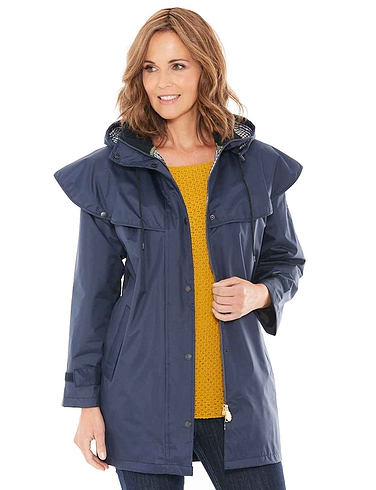 3/4 Length Waterproof Cape Coat