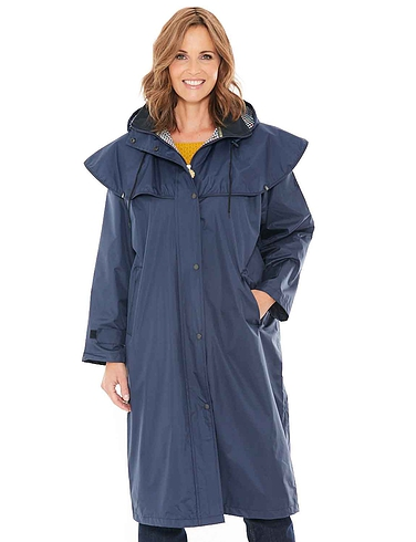 Waterproof Cape Shoulder Long Coat