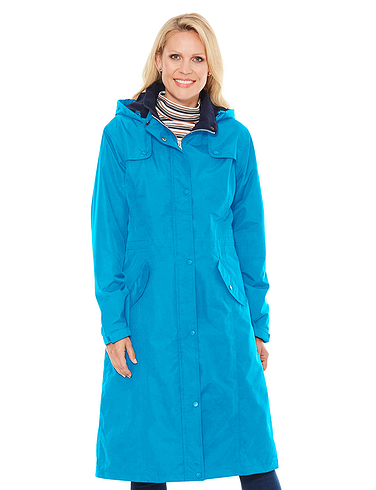 Fleece Lined Waterproof Fabric Jacket 44 Inch