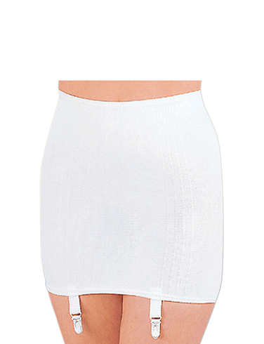 Roll On Girdle - White