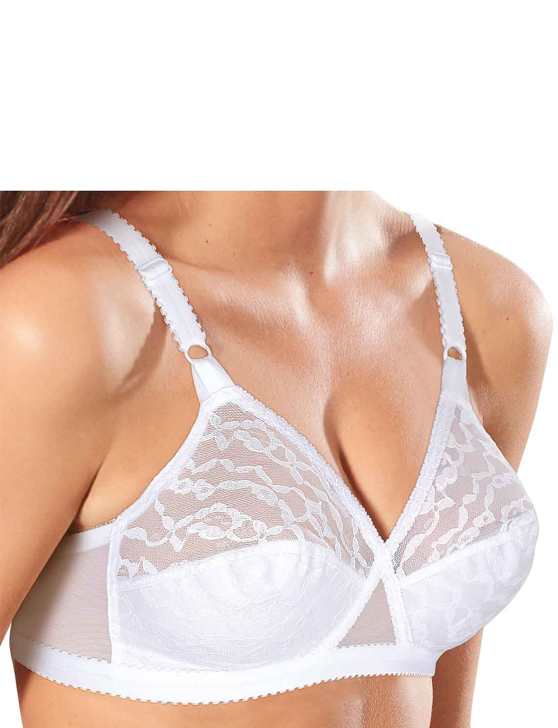 cf49fcdad90b4 Pack Of Two Playtex Lace Bras - Ladieswear Underwear