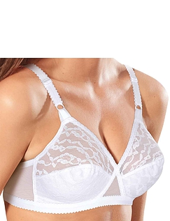 Pack Of 2 Playtex Lace Bras - White
