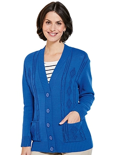 Ladies Basic Cardigan