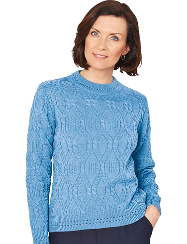 Cable & Diamond Design Jumper