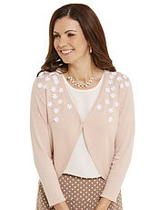Flower Trim Shrug