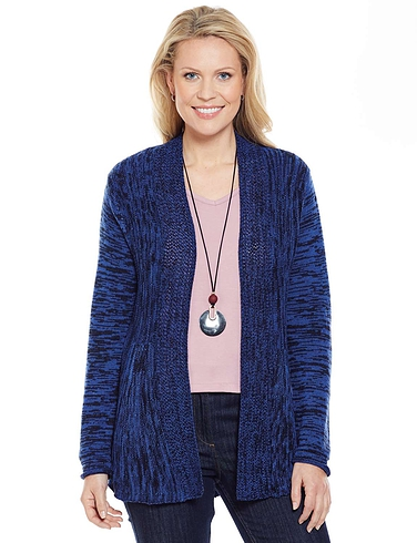 Fanstitch Swing Cardigan