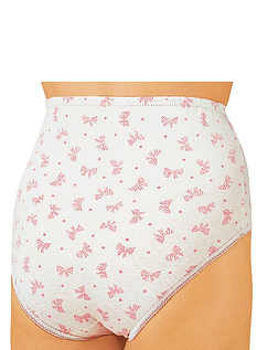 Pack Of Six Print Cotton Briefs