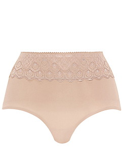 Light Control Lace Top Panty Girdle